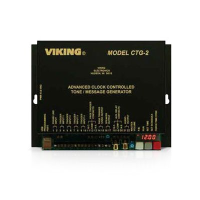 Viking CTG-2 Advanced Clock Controlled Tone / Message Generator and Master Clock (Discontinued)