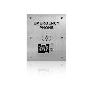 Viking E-1600-TP-IPEWP ADA Compliant VoIP Emergency Phones with Built-In Dialer and Digital Voice Announcer
