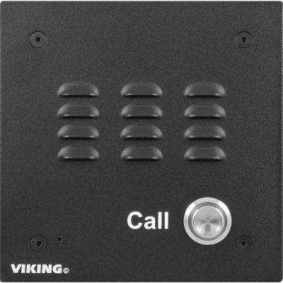Viking E-10A Entry Phone with Black Aluminum Faceplate