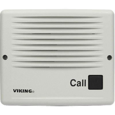 Viking E-20B Line Powered Surface Mount Handsfree Entry Phone