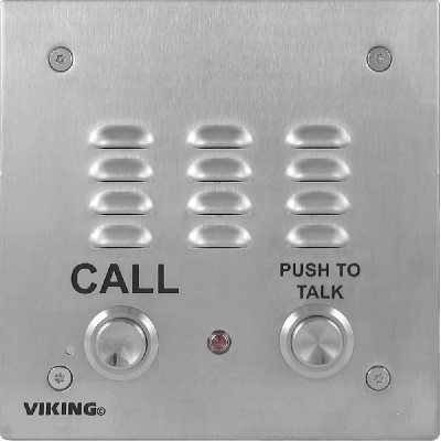 Viking E-30-PT-EWP Speakerphone with Enhanced Weather Protection and Push to Talk Button