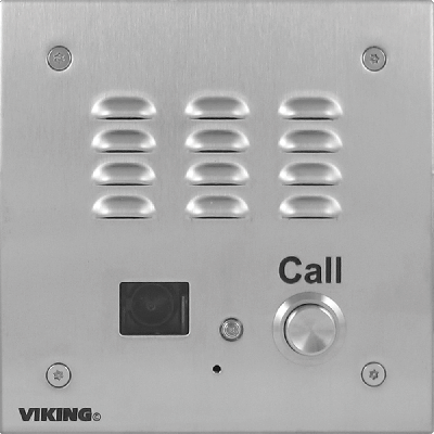Viking E-35-EWP Handsfree Door Entry Phone with Enhanced Weather Protection And Video Camera