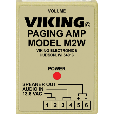 Viking M2W Loud Call Announce / Ringing and Paging Power Amplifier