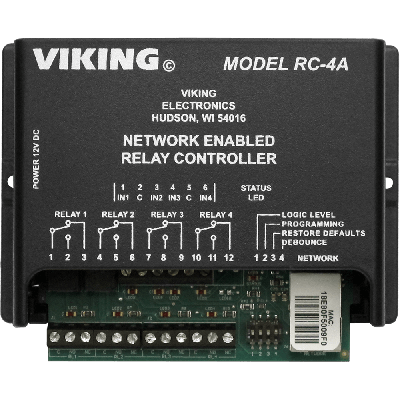 Viking RC-4A Network Enabled Relay Controller