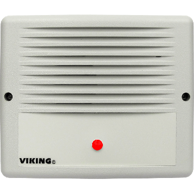 Viking SR-IP SIP Audible Ringer with Visual Ring Indication and Remote Strobe Light Control