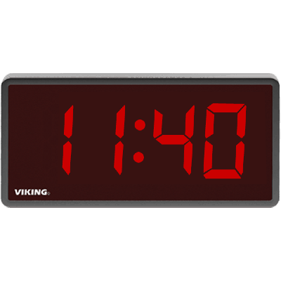 Viking CL-D2 Digital Wireless Synchronized Clock with 2.5 inch Tall Numbers