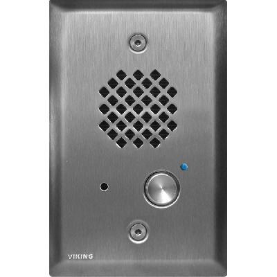 Viking E-40-SS-EWP Compact Handsfree Entry Phone with Enhanced Weather Protection