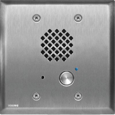 Viking E-60-SS-IP-EWP VoIP Entry Phone with Enhanced Weather Protection Brushed Stainless Finish