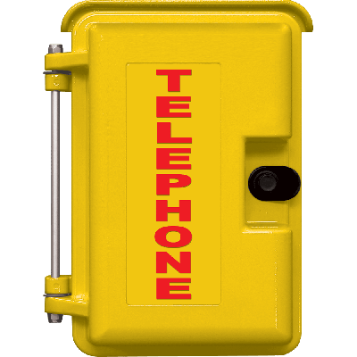 Viking VE-9X12Y-2 9x12 Yellow Weather-Proof Enclosure for E-10A, E-30, E-1600-20A, W-1000, and W-3000