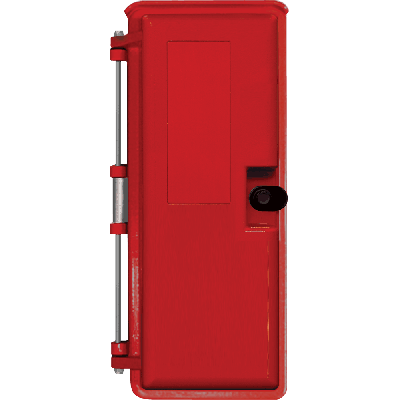 Viking VE-9X20R-0 9x20 Red Weather-Proof Enclosure No Mounting Panel