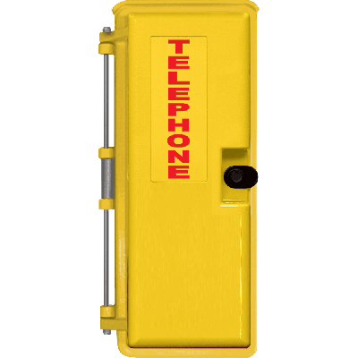Viking VE-9X20Y Yellow 9x20 Weather-Proof Enclosure for K-1500-7, K-1900-7 and K-1900-8